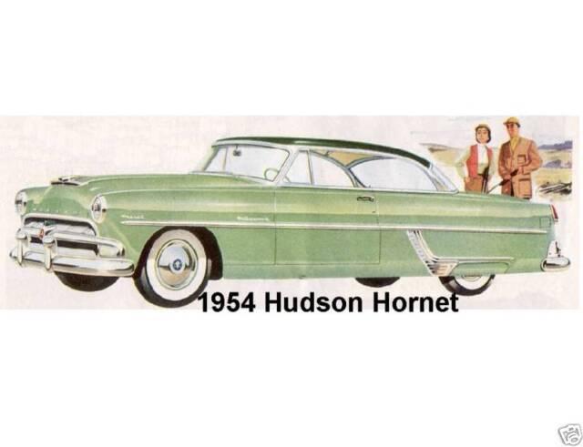 1953 Hudson Hornet  Auto Refrigerator Tool Box Magnet Man Cave