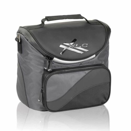 XLC BA-S42 Deluxe Bicycle Handlebar Bag QR Quick Release Mount 7L Black
