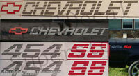 454 Ss 454ss Chevrolet Tailgate/bedside Decal Kit 90-91