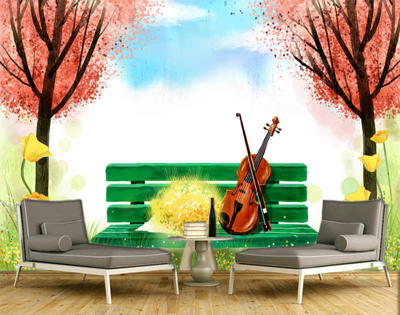 Intimate ROT Maple 3D Full Wall Mural Photo Wallpaper Printing Home Kids Decor