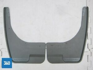 NEW-GENUINE-RENAULT-CLIO-4-PRE-CUT-DRILLED-MUDFLAPS-FRONT-RUBBER-8201212479