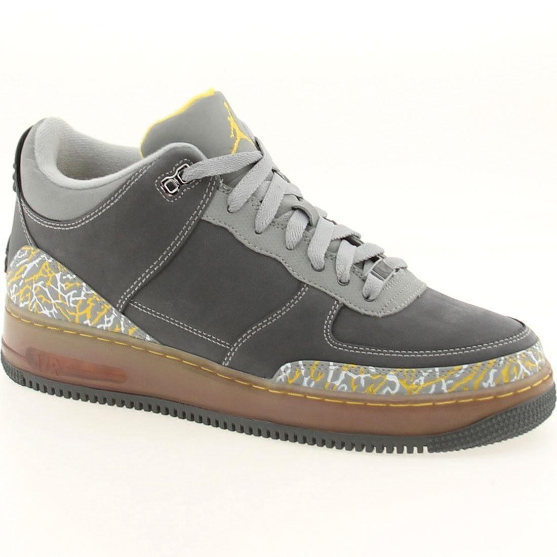 323626-071  150 nike Air Jordan 3 III AJF Force 1 Fusion flint grey shoes