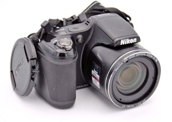 2019 Nouveau Style Nikon Coolpix L820 16,0 Mp Appareil Photo Numérique - Noir Approvisionnement Suffisant