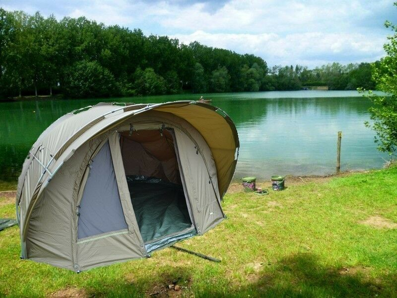 Exclusive Bivvy 2 Man Size   Sewn In Ground Sheet + Second Skin