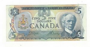 1979-Bank-of-Canada-5-Note-BC-53bA-Cro-Bou-Ser-31003561259-Replacement