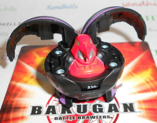 Bakugan Ravenoid Darkus Haos Ventus Pyrus B2 Series /& 2 cards