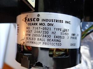 d7908 wiring diagram fasco industries 7162 1502 motor fan type u67 208 230v  fasco industries 7162 1502 motor fan type u67 208 230v