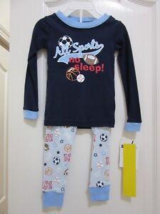 6d6db0a53973 Carter s  Vitamins Baby 100% Cotton Boys Pajamas PJs Long Sleeve 18 ...