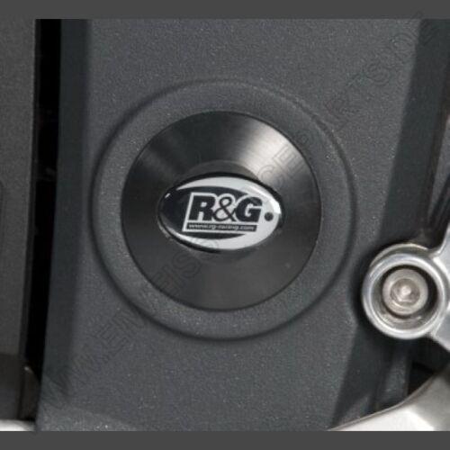 R/&G Rahmen Abdeckung Set Triumph Speed Triple 05-10 Frame plugs Inserts Kit