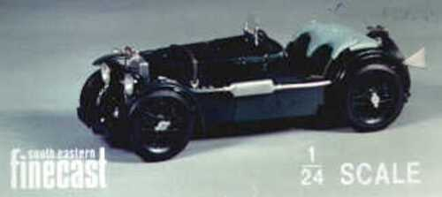 MG K3 Racing car kit - white metal model to assemble and paint