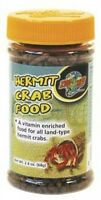 2.4oz Hermit Crab Food, Pellet Diet Vitamins Staple Land Type Reptiles Pet