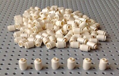 10 X Genuine LEGO 3062 White 1x21 Round Stud Plate Brick Pack of 10 Pieces