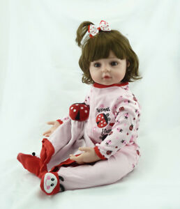 Reborn Toddler Doll 22  55cm Real Looking Realistic Lifelike Baby ... 0c28651aab