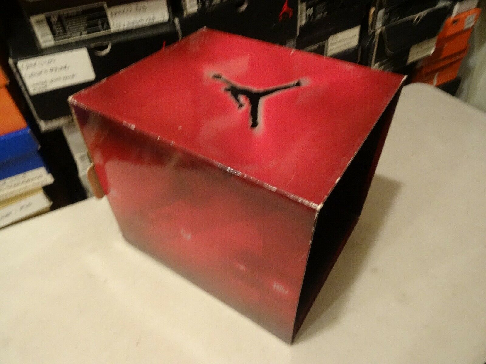 DISPLAY CASE NIKE AIR JORDAN COUNTDOWN PACK  CDP  COUNT DOWN Pack SZ 11 scatola only Sautope classeiche da uomo