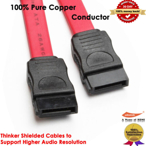 Best SATA Extension Cable SATA  Male to Male Data SATA Power Adapter Cable Red
