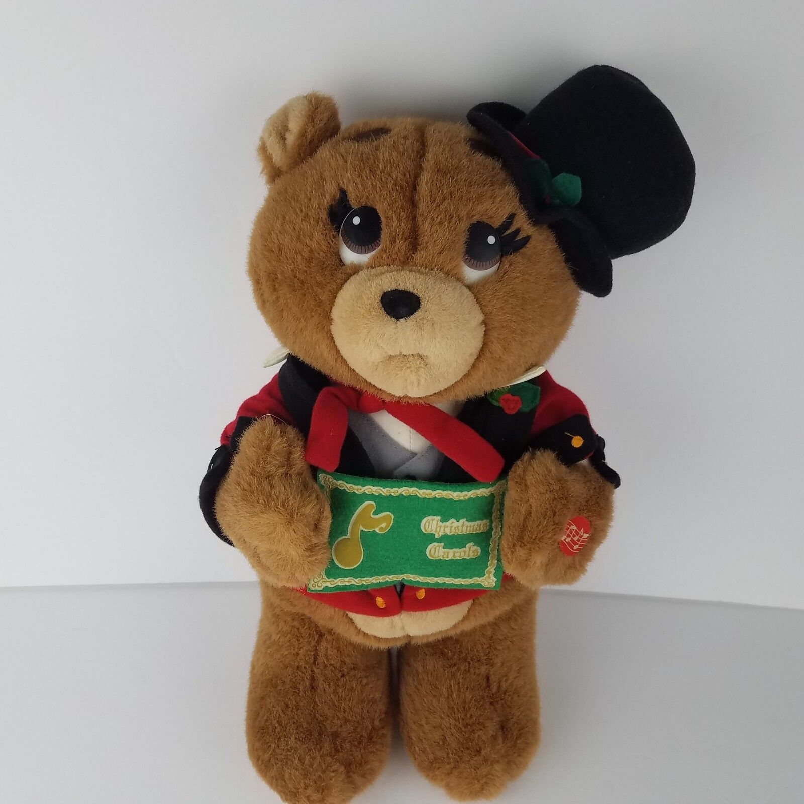 Vintage House of of of Lloyd Plush Musical Christmas Bear 16