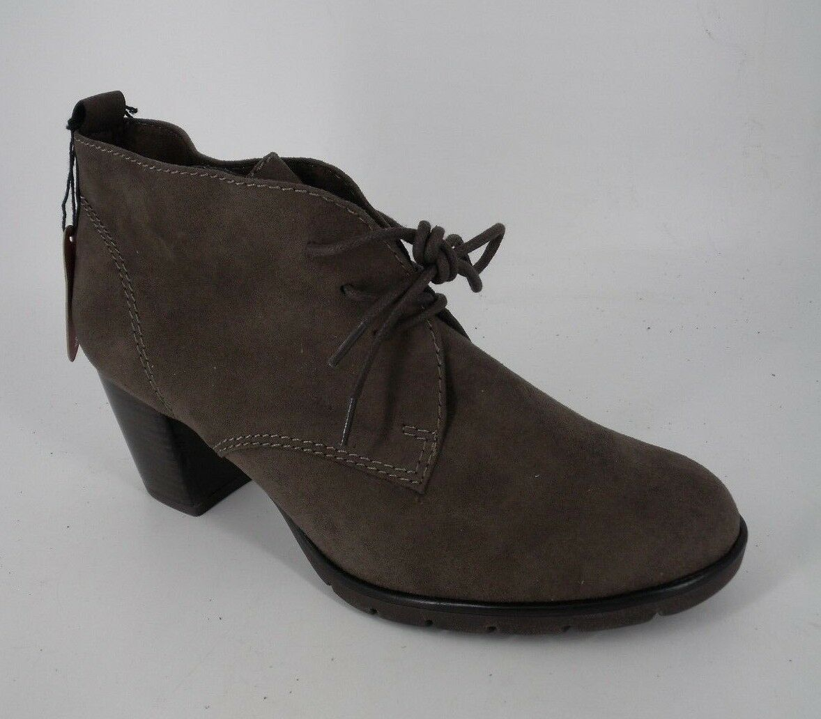 MARCO TOZZI ANKLE  BOOTS GREY SIZE UK 5 EU 38 NH182 EE 01