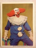 Bozo The Clown Cooky Mr. Ned & Group Photo 3x4 Picture Wgn Bozo's Circus Show