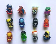 Lots 12pcs MARVEL The Avengers Thor Hulk Spiderman Iron Man X-Men Mini Figure B