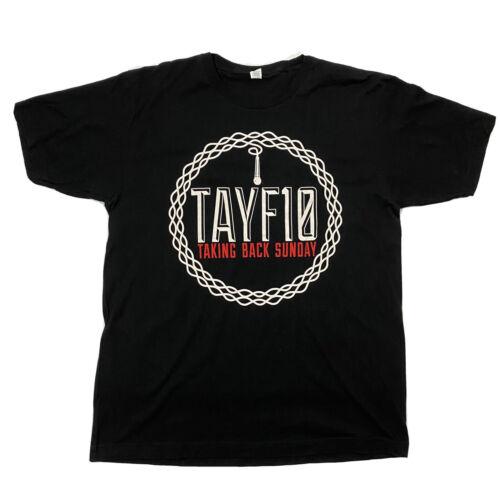 Taking Back Sunday Black Men's Large T Shirt 2012