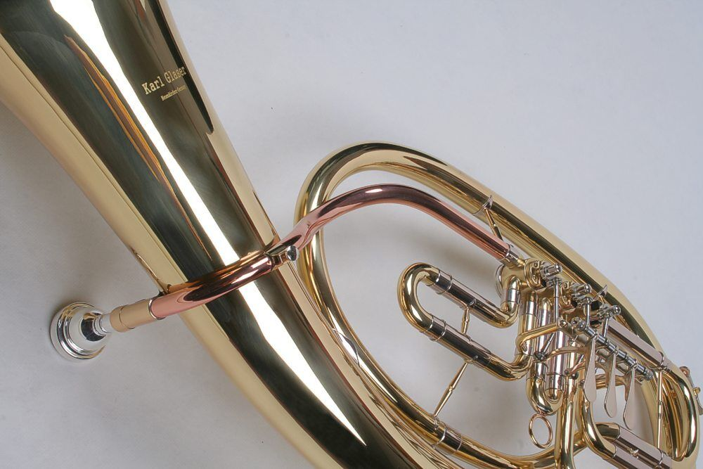 Bb Tenorhorn böhmische Bauweise Gold