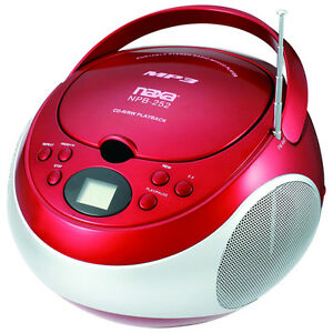 Naxa-Portable-MP3-CD-Player-with-AM-FM-Stereo-Radio-amp-AUX-in-Red-NPB252R