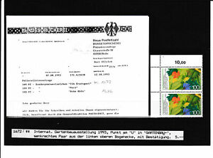 115293-Bund-Abart-Plattenfehler-MNH-Siehe-Scan