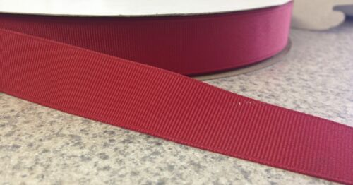 "20 yard spool 1 1//2/"" width Grosgrain Ribbon RED Polyester"