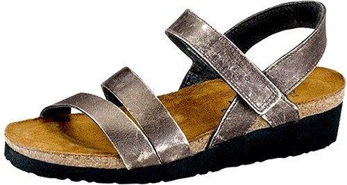Naot Pelle 42 Metallo Misure Sandalo Con Donna 36 Cinturini Nuovo 11 5 Kayla Da xnrx5B