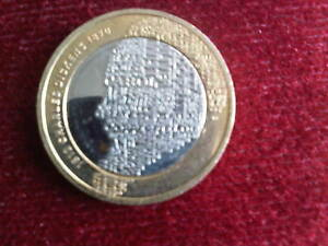 CHARLES DICKENS 2012 TWO POUND COIN - nuneaton, Warwickshire, United Kingdom - CHARLES DICKENS 2012 TWO POUND COIN - nuneaton, Warwickshire, United Kingdom