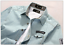 Men-039-s-New-Casual-Stylish-Jean-Denim-Slim-Fit-Long-Sleeve-Shirt-3-Colors-010 thumbnail 7