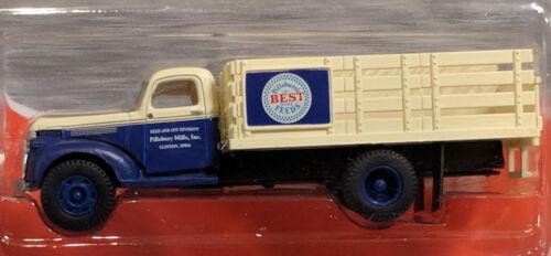 HO Mini Metals 30341 1941-46 Chevrolet Stake Truck Pillsbury