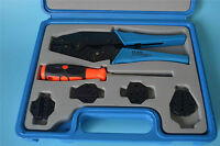 8milelake Ly03c-5d3 Combination Tools Crimping Tool Kit Ly-03c With 5 Die Sets
