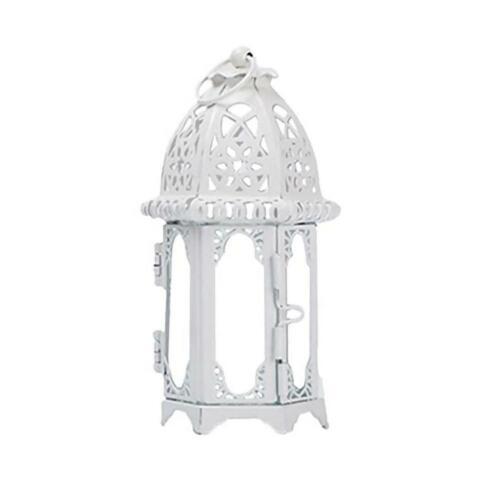 European Style Wrought Iron Candle Holder Candlestick Lantern Household Decor