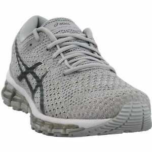 ASICS-Gel-Quantum-360-Knit-Casual-Running-Shoes-Silver-Womens-Size-6-B