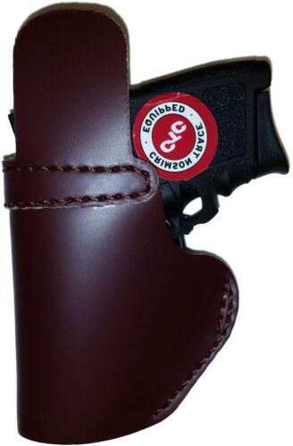 LT CUSTOM MAHOGANY OWB Leather Gun Holster YOU CHOOSE:rh,lh-laser-slide-belt-mag