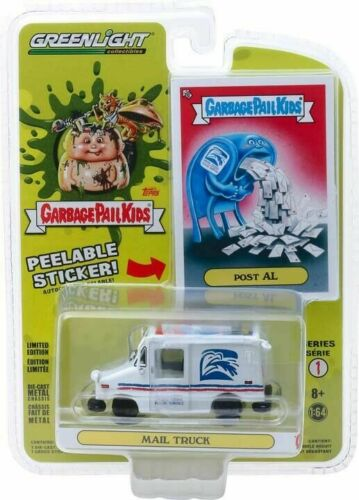 Greenlight 1//64 Garbage Pail Kids S 1 POST AL LLV Mail Delivery Truck 54010E