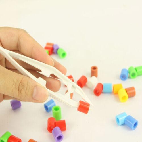 5Pcs Lot Plastic Beads Tweezers For Model Building Kits Puzzle Bead Toy