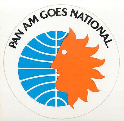 PAN AMERICAN Airways PAA Vintage Style Travel Decal //Vinyl Sticker,Luggage Label