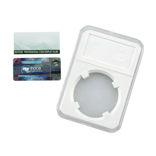 PCCB Holder Protector Coin Display Slab for NGC PCGS Grade Collection Box 35.5MM