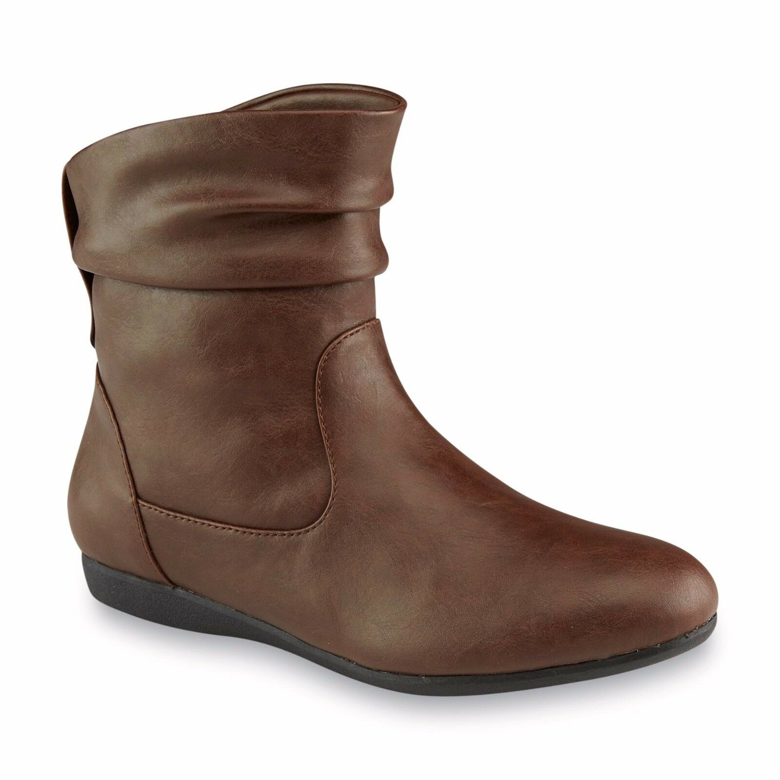 New Womens Personal Identity Castro Slouch Boot Style 70178 Brown 126W jr