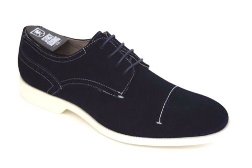 Marine Stacy Décontractées 25014 Toe Wilcox Leather Adams Hommes Bleu Suede Dress Chaussures 6byYgf7v