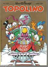 TOPOLINO LIBRETTO 1726 - 25/ 12 / 1988 - WALT DISNEY- CON CEDOLA INSERTO-NATALE