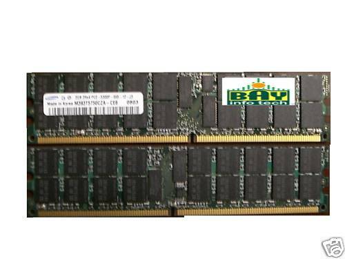 DDR2-667 PC2-5300 ECC Register Samsung 4GB 2X2GB