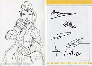 UDON-2006-SKETCHBOOK-CAMMY-SKETCH-STREET-FIGHTER-SIGNED-x6-COA-02