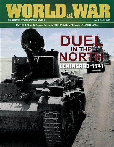 World at War 48, 6 7 2016  Duel in the North, Leningrad 1941 - Decision Games