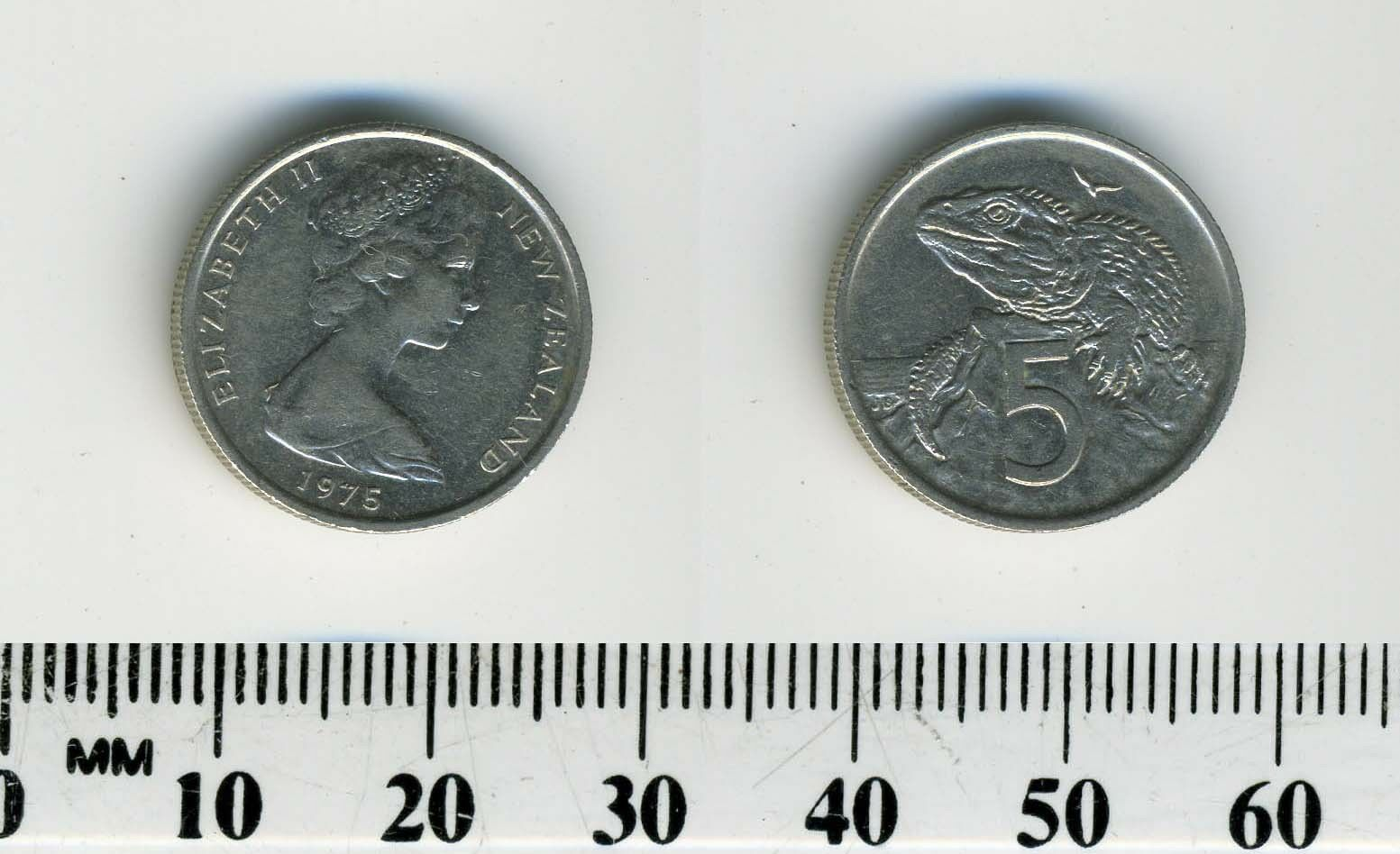 5 Cents Copper Nickel Coin