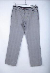 P392c51-Zara-Man-Polycotton-Check-Tartan-Grey-TailoreTrousers-W33-L32-180-84