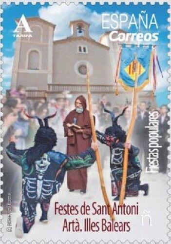 [CF4129] España 2018, Festival de San Antonio. Ibiza (MNH)
