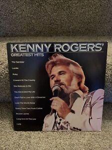 """Kenny Rogers Greatest Hits 12"""" Vinyl LP 1980 Liberty The ..."""
